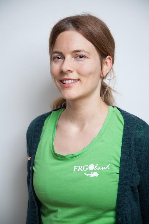 Ergotherapeutin Nora Maier