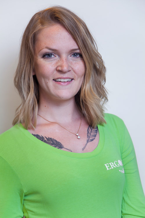 Ergotherapeutin Janine Seel